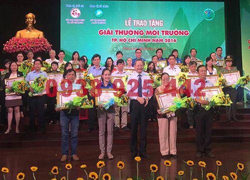 Lễ trao giải môi trường công ty môi trường xanh