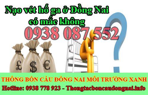 Nạo vét hố ga Đồng Nai Môi Trường Xanh BH 2 năm uy tín