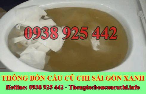 Thông bồn cầu không rút nước Biên Hòa Đồng Nai 0938778923