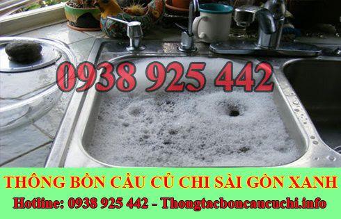 Thông bồn rửa chén bát trào ngược Biên Hòa Đồng Nai